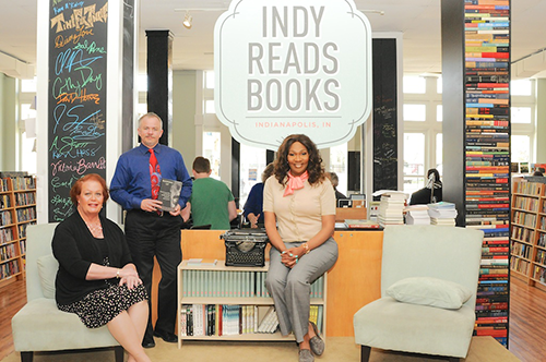 Visit Indy Reads Books and listen to conversations and readings from prominent individuals.