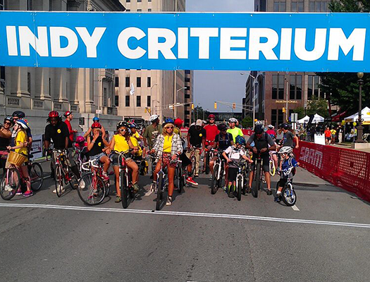 The Indy Criterium attracts over 500 racers and thousands of spectators, fans and volunteers for the races and free festival.