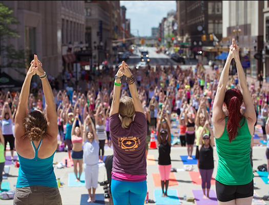Monumental Yoga will take place June 21 at 12 p.m. for a perfect way to get fit with dad.