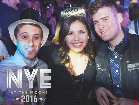 New Year's Eve at Howl at the Moon.