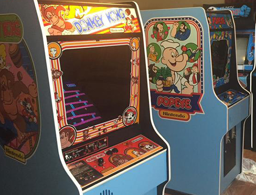 Throw back! Take yourself back in time to your best friend's basement in 1981 when you step in Tappers Arcade Bar.