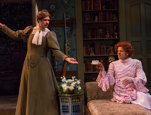 You and your date will be sure to LOL during the performance of The Mystery of Irma Vep at the IRT.