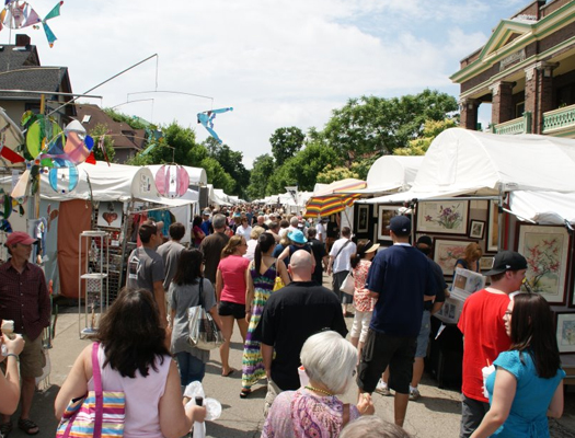 More than 270 artists will display their products at the 60th annual Talbot Street Art Fair June 13 and 14.
