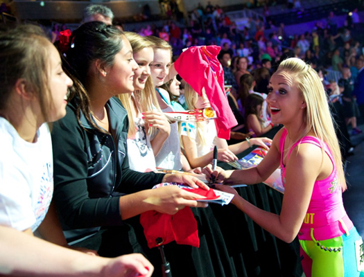 The 2016 Kellogg's Tour of Gymnastics Champions makes a stop at Bankers Life Fieldhouse on Oct. 15.