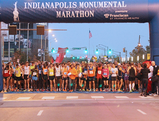 Now one of the 20 largest marathons in the US, the Monumental Marathon is the ideal fall marathon.